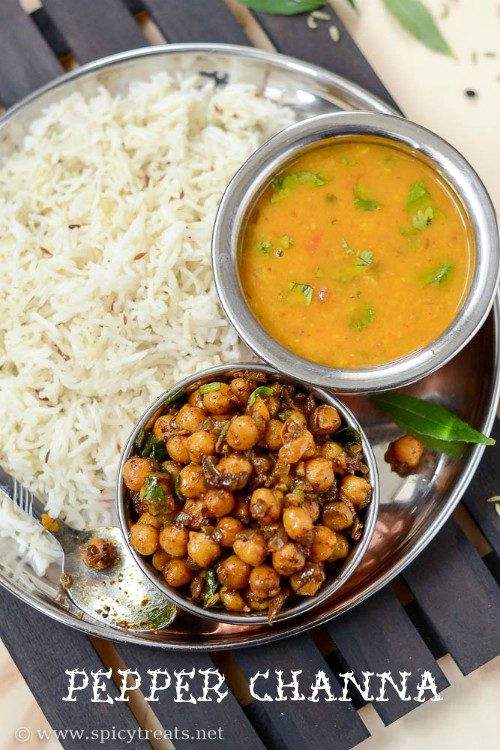 Channa Pepper Masala