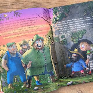 """Bilderbuch """"Der wilde Räuber Donnerpups – Der Räuberschatz"""" von Walko, erschienen im Coppenrath Verlag, Rezension Kinderbuchblog Familienbücherei"""