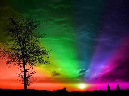 rainbow wallpapers natural desktop