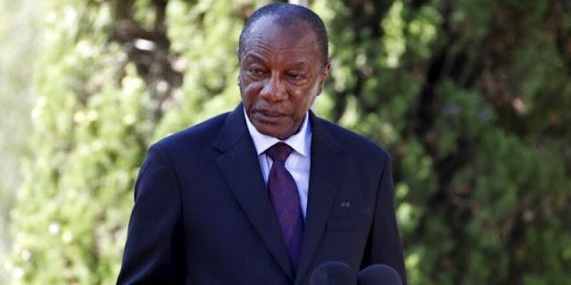 AS dan Uni Afrika Kecam Kudeta Militer Guinea, Serukan Pembebasan Segera Presiden Alpha Conde