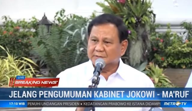 Media Surya Paloh Ungkap Kekecewaan Prabowo Gabung Kabinet: Memelihara Anak Macan!