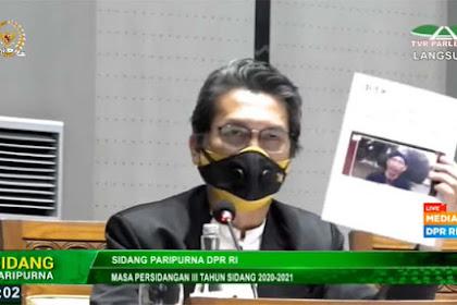 DPR RI Pertanyakan Apakah Abu Janda Digaji dengan APBN?