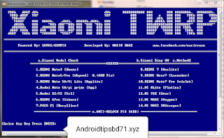ADB Fastboot TWRP Install Xiomi Tools Free Password Download By Androidtipsbd71
