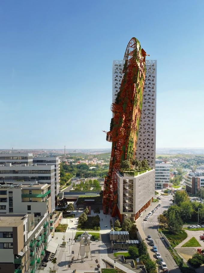 Edificio Post-Apocalíptico podría convertirse el más alto de Polonia