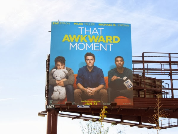 That Awkward Moment movie billboard ad
