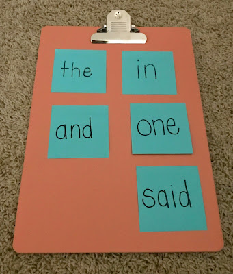 Great sight word activity for parents to try at home