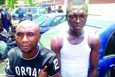 Men Who Disguised As Patients To Rob Hospital Nabbed (Photo)