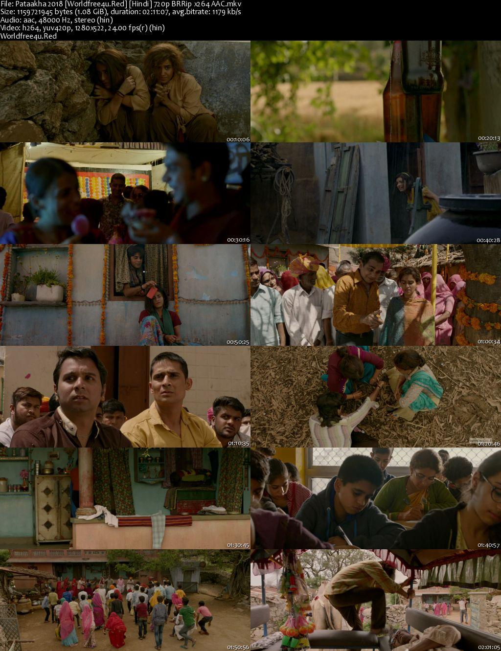 Pataakha 2018 Hindi BRRip 720p