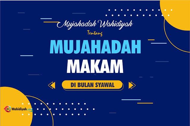 Mujahadah Makam Sholawat Wahidiyah di Bulan Syawal