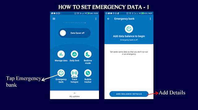 Set Emergency Details