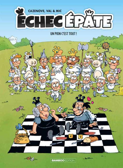 Le dessinateur héraultais Mic lance une BD jeunesse sur les échecs