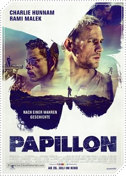 Papillon Torrent 2019 (BluRay) 720p / 1080p Dual Áudio / Dublado