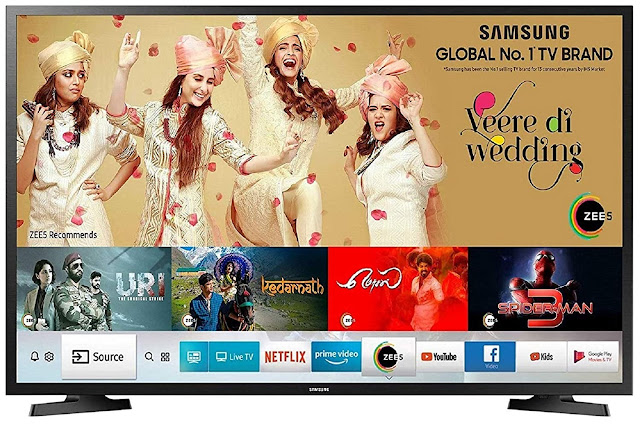 Samsung 100 cm (40 Inches) Smart 7-in-1 Full HD Smart LED TV