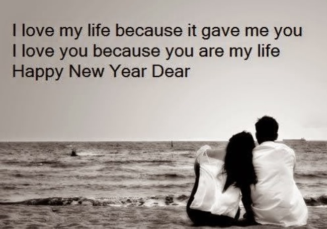 Husband New Year Messages – Merry Christmas And Happy New Year 2018