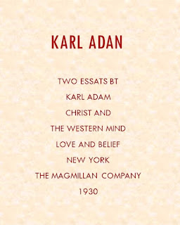 KARL ADAM