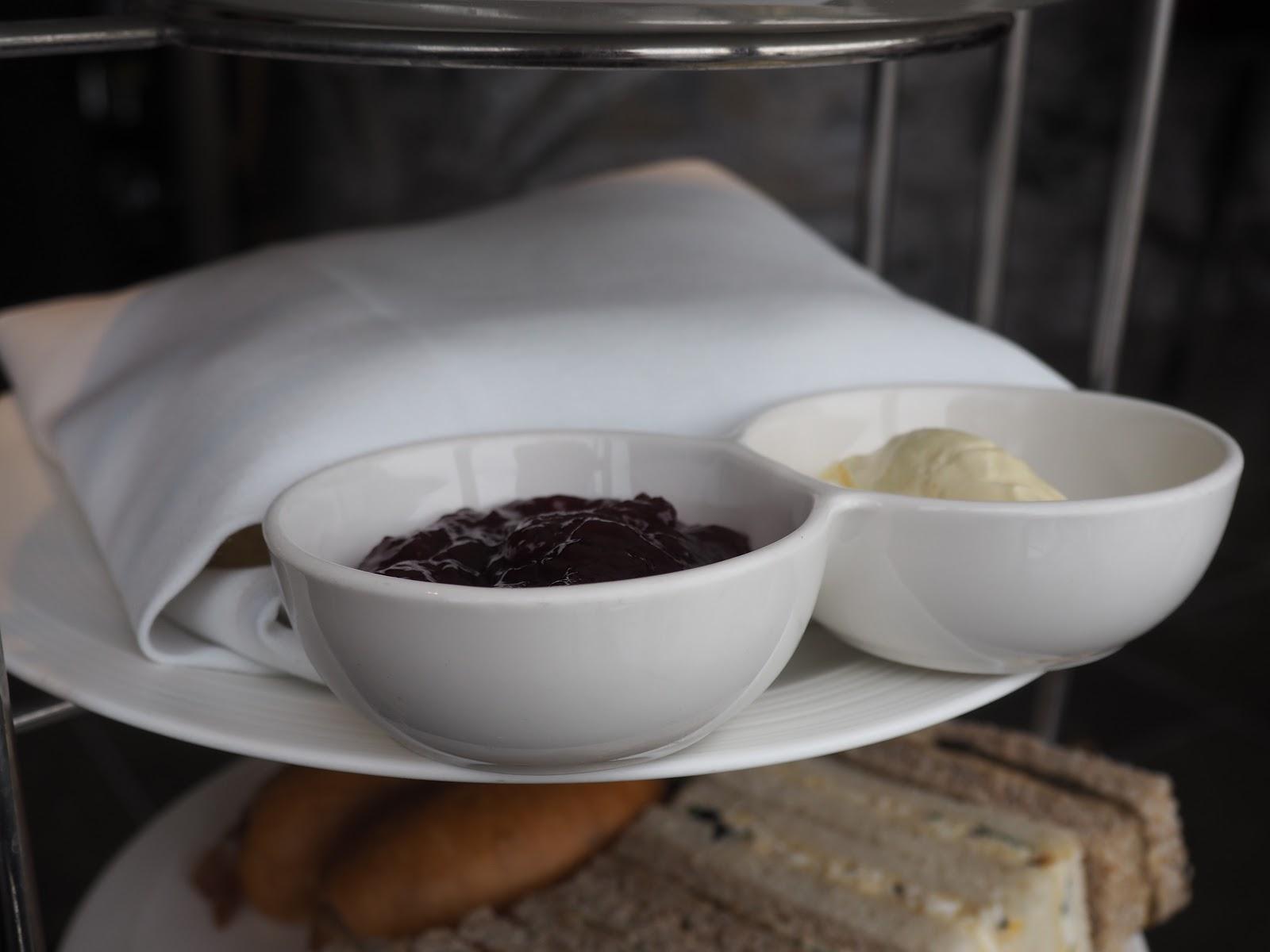 scones from Afternoon Tea at GONG Bar at the Shangri La at The Shard