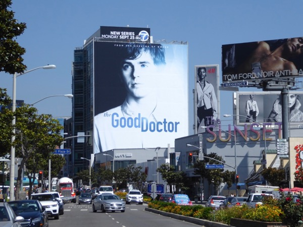 Good Doctor launch billboard