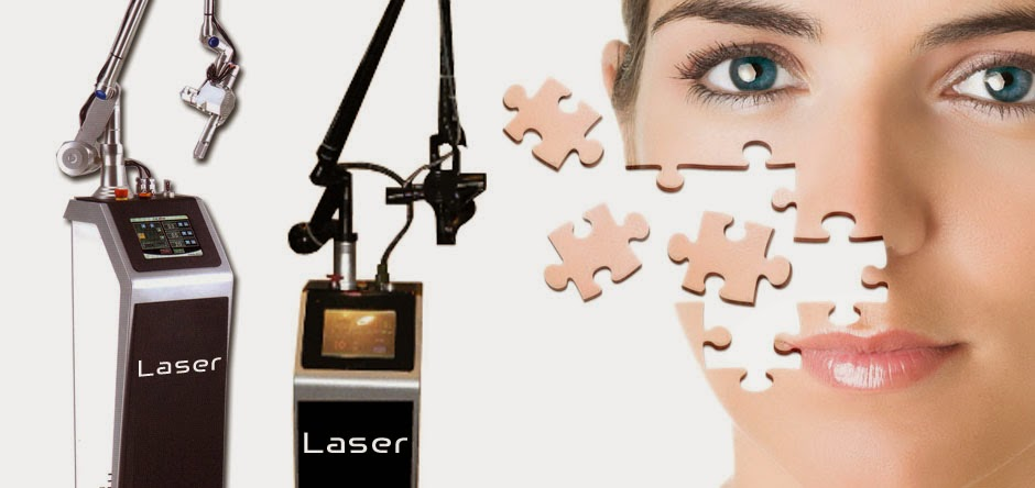 CO2 Laser เลเซอร์สิวอุดตัน