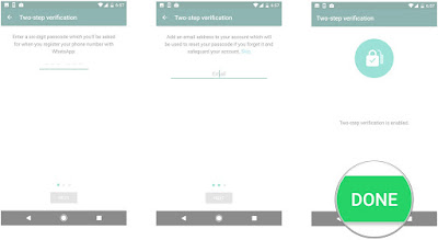Cara Membuat Verifikasi 2 Langkah Whatsapp
