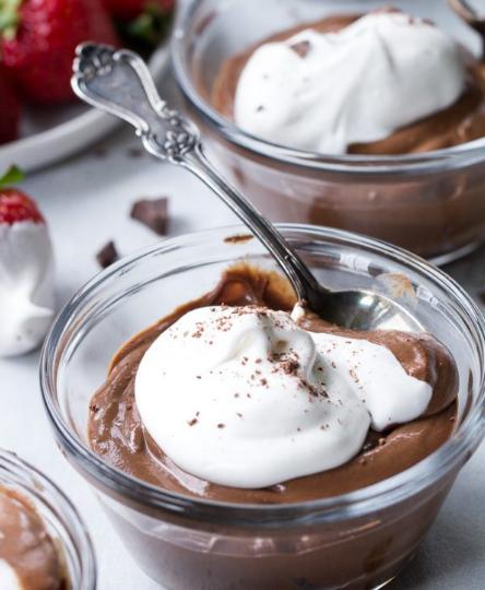 Easy Paleo & Vegan Chocolate Pudding  #diet #paleo