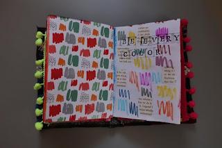 Mój pierwszy art journal