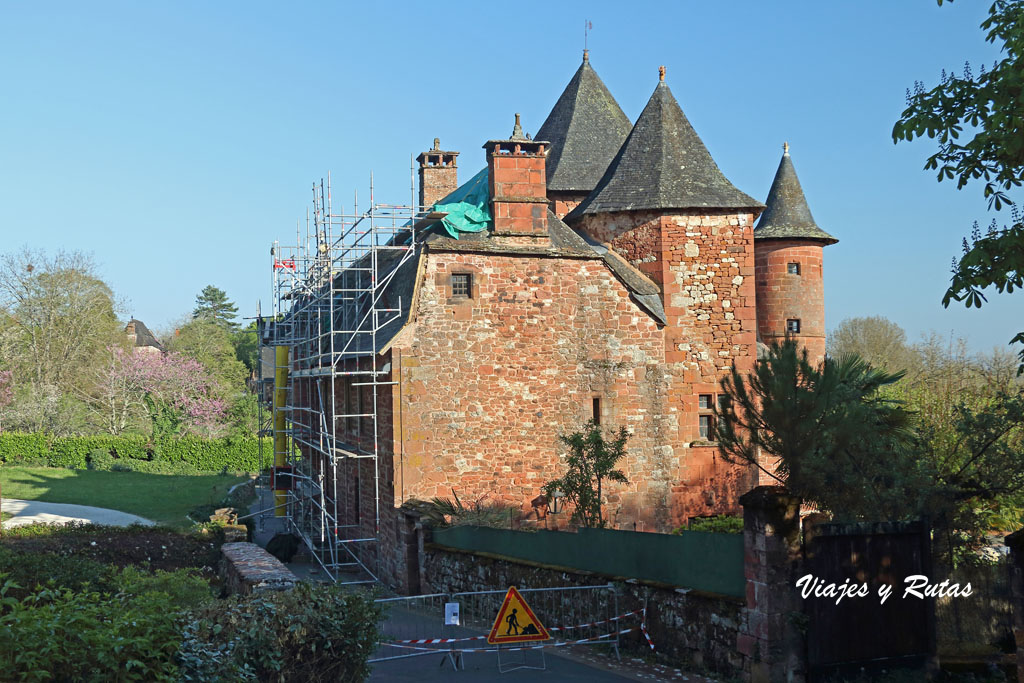 Castillo Vassinhac, Collonges la Rouge, Francia