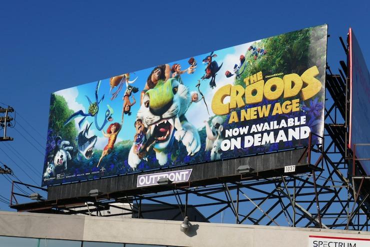 Croods A New Age On Demand billboard