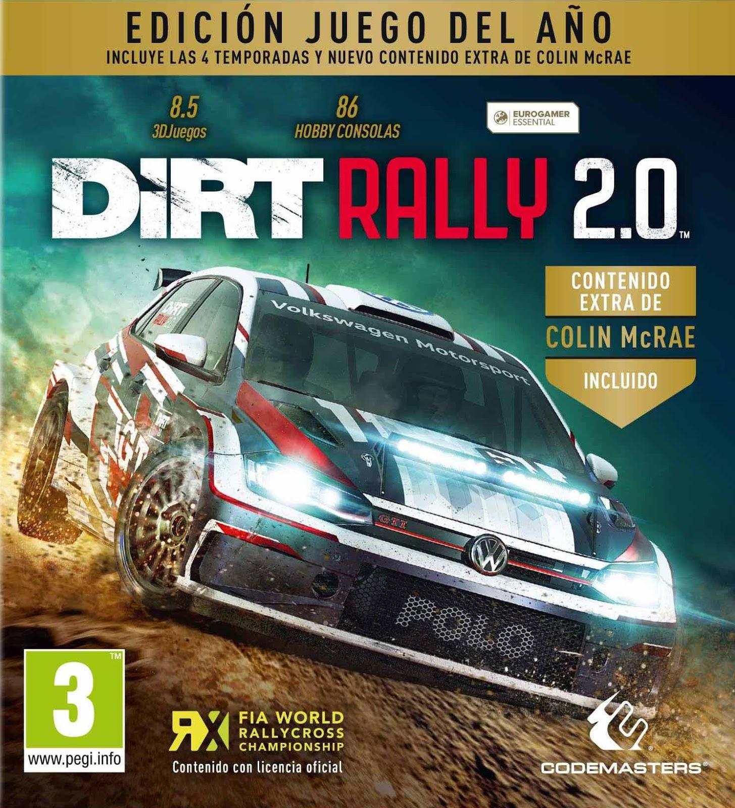 DiRT Rally 2.0 PC Cover Caratula-www.juegosparawindows.com