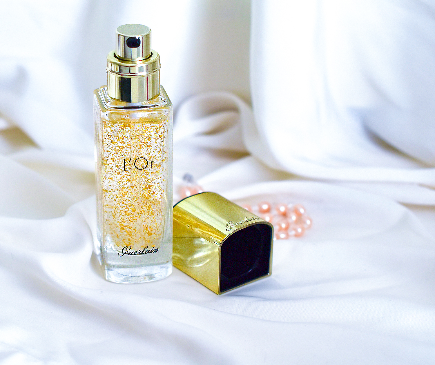 Guerlain L'Or Pure Radiance Face Primer, beauty blogger