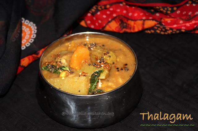 images of Thaalagam Recipe /  Thalagam Kuzhambu Recipe / Tirunelveli Thalagam
