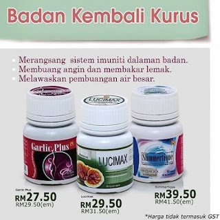 garlic plus sendayu tinggi