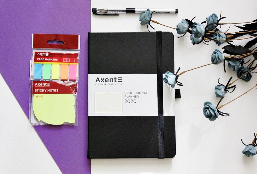 Канцелярия Axent: Еженедельник Professional Planner 2020 / обзор, отзывы