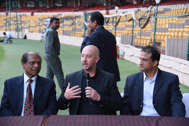KSCA - Welcome the next-generation cricket outfield at Chinnaswamy Stadium, Bangalore