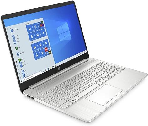 HP 15s-fq2037ns: ultrabook Core i3 con disco SSD y teclado QWERTY en español