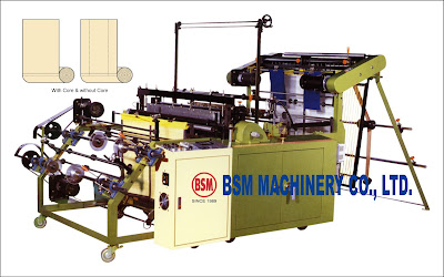 BOTTOM SEALING BAG ON ROLLMAKING MACHINE WITH CORE & CORELESS,   BOTTOM LINE BAG ON ROLLMAKING MACHINE with or without Core Bag