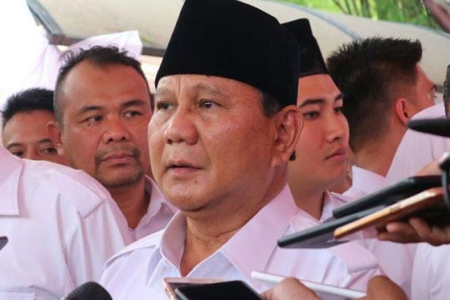 Prabowo: Saya Kehilangan Ajudan, Ditembak Tidak Jelas