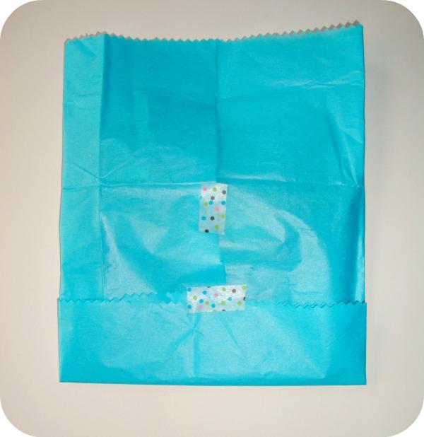 Envolver los regalos con papel de seda!