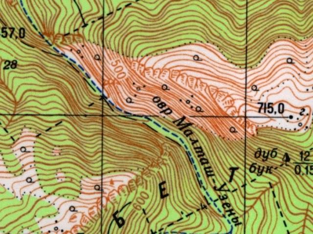 Как разработать маршрут для похода - карта