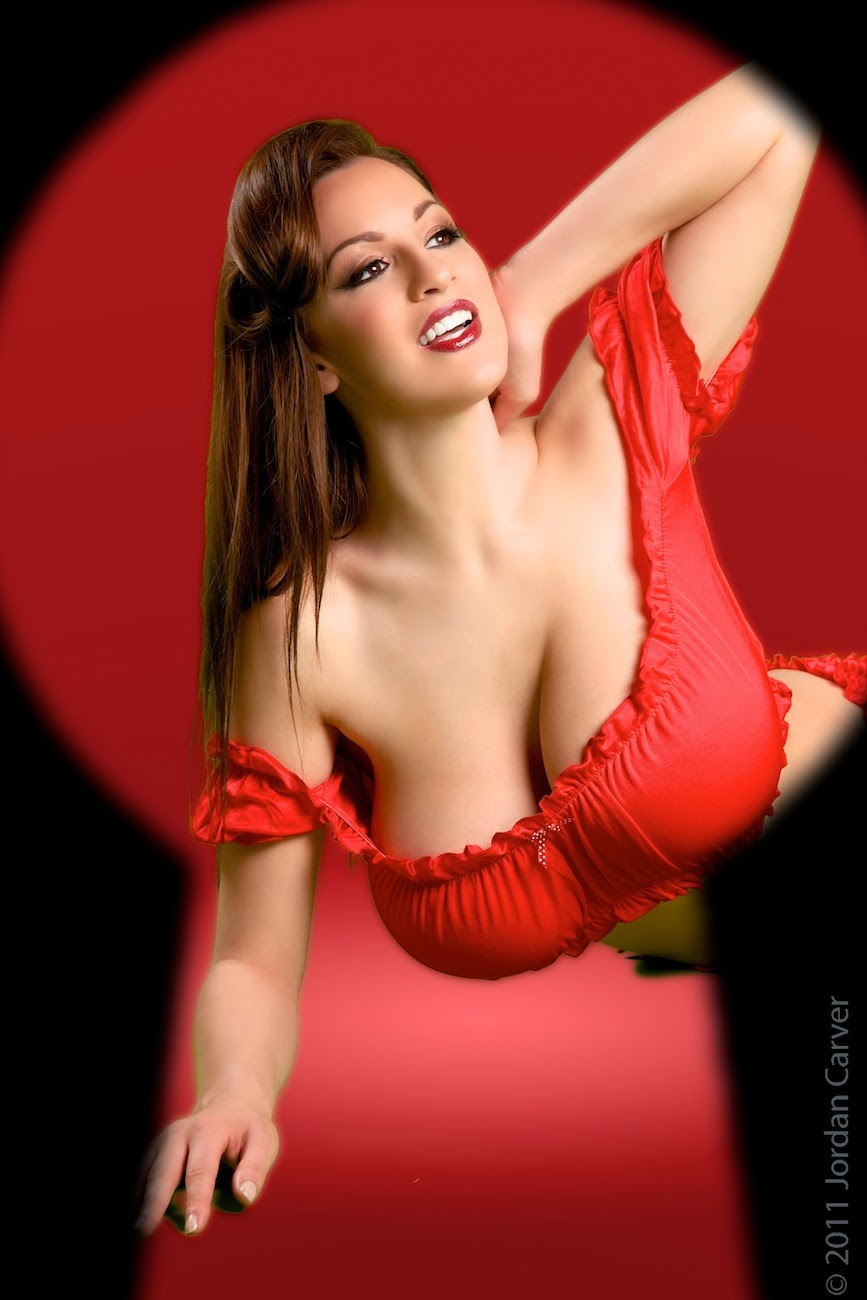 Jordan Carver Hot Gorgeous Big Boobs Exposed For Pin Up -4448