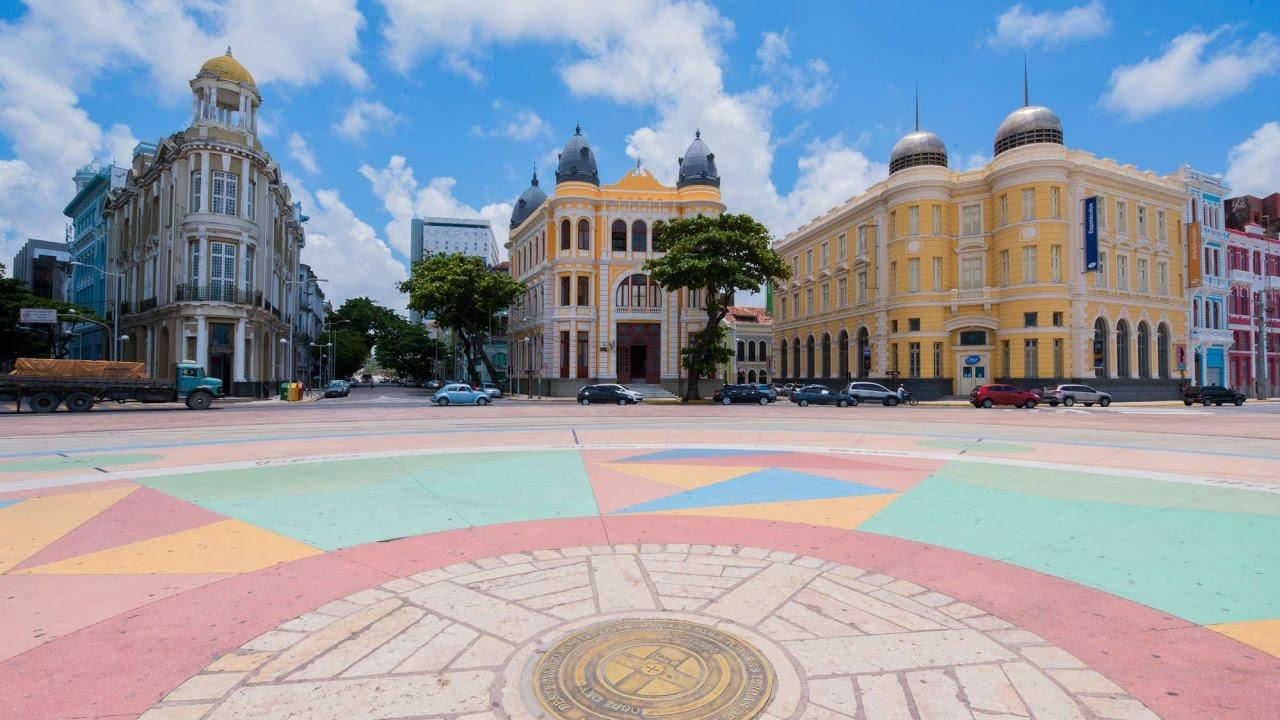 Ponto zero da nossa atuação em Recife