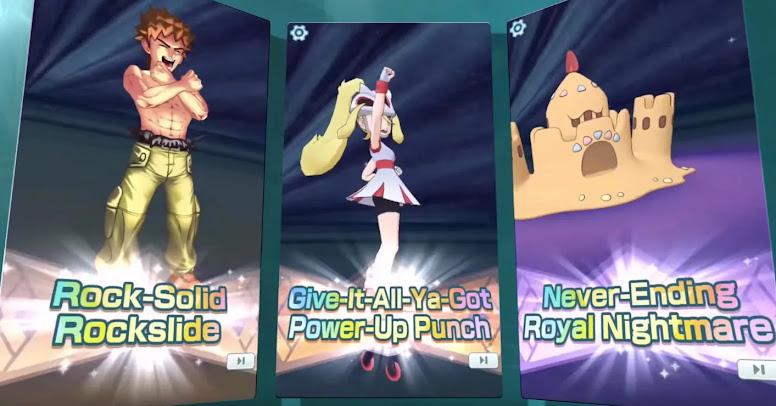 Pokémon Masters EX Sync Moves