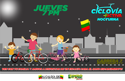 Image Result For Ciclovia Nocturna