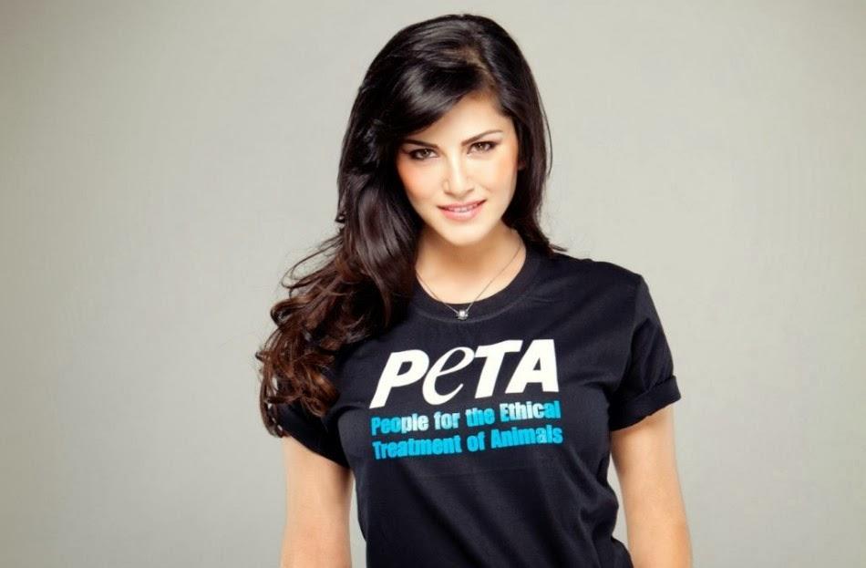Sunny Leone in PETA
