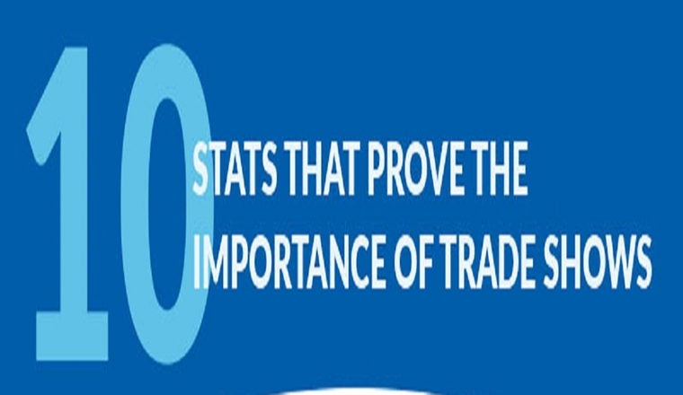 10 Stats That Prove the Importance of Trade Shows #infographic