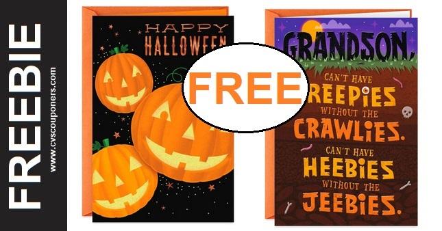 FREE Hallmark Greeting Cards at CVS 10-18-10-24