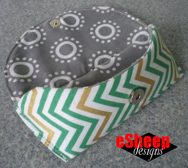 Sunny Glasses Case crafted by eSheep Designs