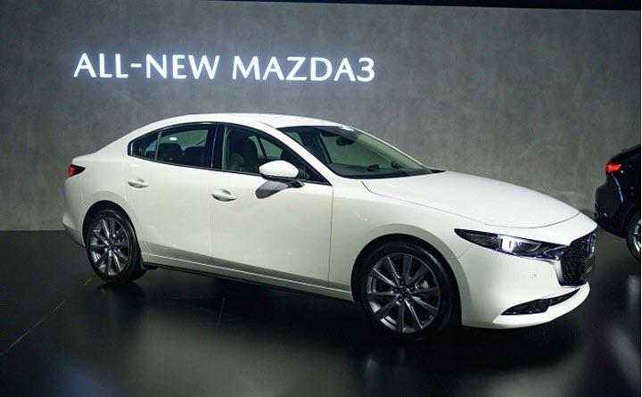 Mazda 3 Turbo dẫn động 4 bánh sắp ra mắt