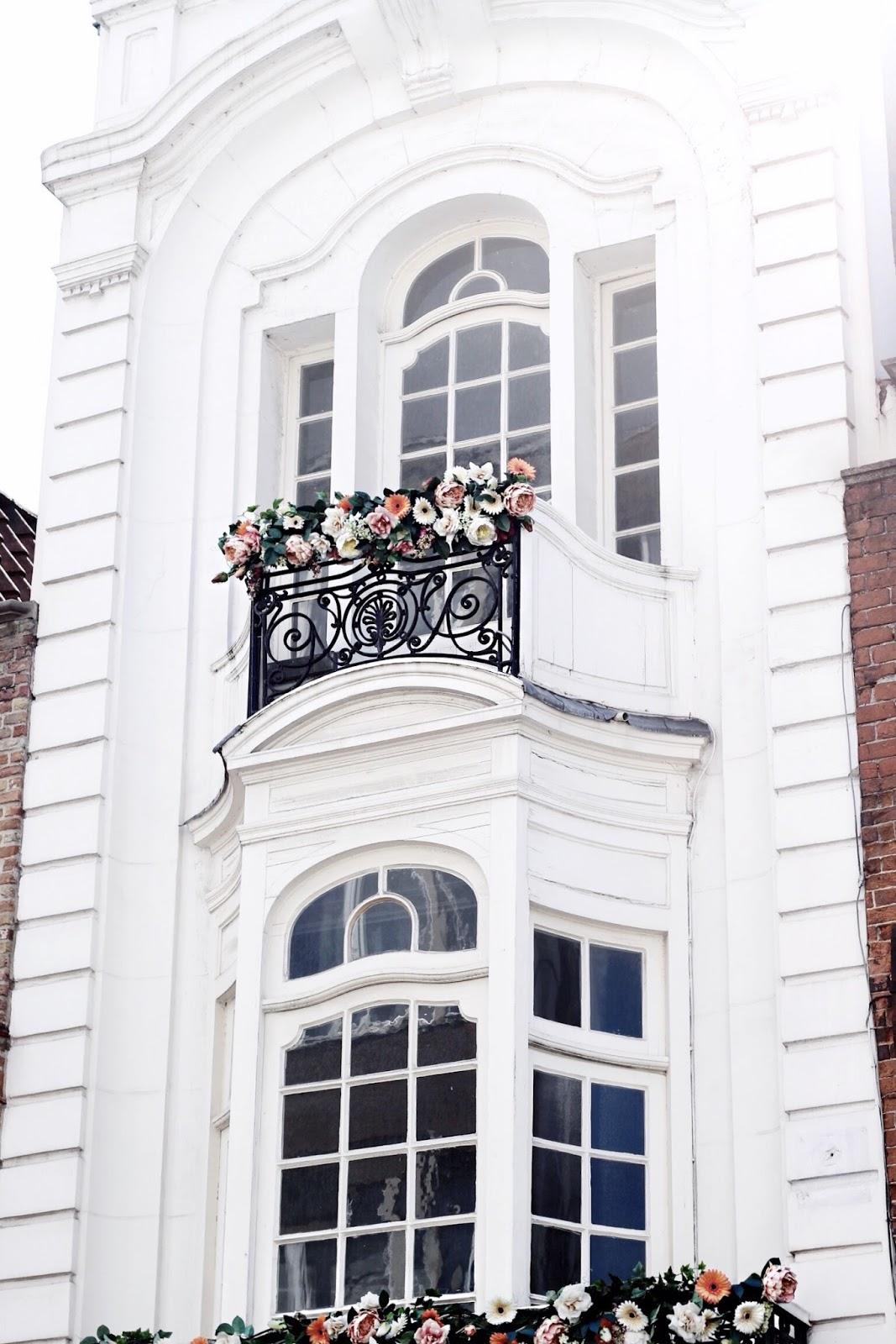 White Buildings in Bruges