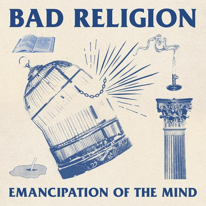 "Bad Religion stream new song ""Emancipation Of The Mind"""
