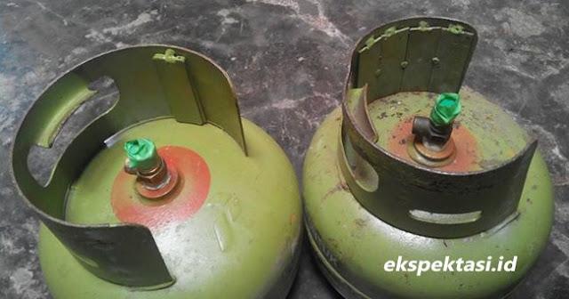 Indikasi Kecurangan, Tabung Gas 3 Kg Ada Tambahan Lempengan Besi